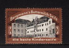 46878/ Reklamemarke - Bergmanns Buttermilch-Seife - Schloss Meiningen