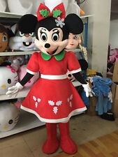 The new Christmas design Minnie adult cartoon mascot costume size