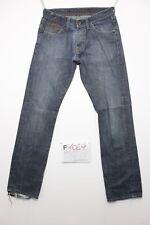 G-Star Regular Fit (Cod.F1069) Tg.46 W32 L34  jeans usato boyfriend