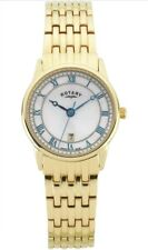 Rotary Ladies Swiss Made Gold Bracelet Mother of Pearl Dial Watch