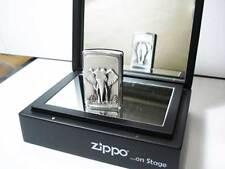 "Zippo® Elephant, Elefant  ""on Stage"" Neu/New OVP Collectors Edition"