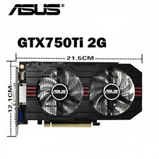 ASUS NVIDIA GeForce GTX 750 Ti GDDR5 2GB  PCI Express 3.0 5400MHz Graphics Card