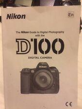Nikon D100 6MP Digital SLR Professional Camera, 2 batteries & MH-18 Charger