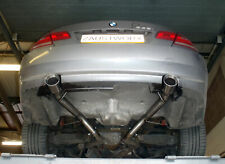 """BMW 335i E90/E91/E92/E93 Rear silencer delete pipe - 4"""" tail pipe"""