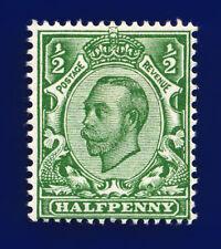 1912 SG339 ½d Green (Die-2, wmk IC) N4(1) Mounted Mint Hinged Cat £8 cohz