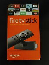 Amazon Fire TV Stick (2nd Gen) Media Streamer with 2nd Gen Alexa Voice Remote...