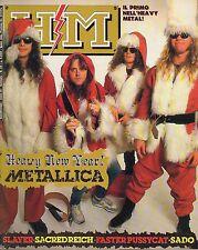 rivista - H/M HEAVY METAL - Anno III Numero 33