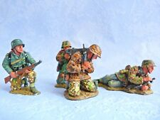 King & Country retired World War II - WS051 - Soldats allemands avec MG42
