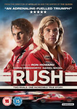 Rush (DVD, 2014) Brand New dvd remains in packaging