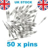 50x Spare Pins for Watch Band Strap Link Remover Adjuster Repair Tool Kit UK