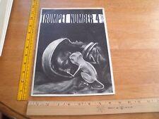 1966 Trumpet magazine Tom Reamy #4 George Barr Alan Dodd D Bates fantasy stories