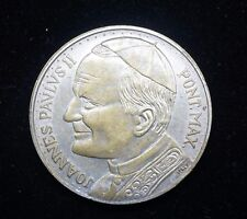 Joannes Paulus II Pope John Paul Pont max O.L Czestochowa Ora  Italy  Medal #151