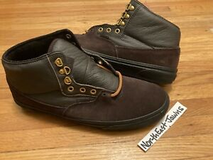 DS VANS BUFFALO BOOT MTE PRO CIVILWARE BROWN SUEDE LEATHER 11 WTAPS SUPREME