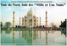 Coupure de presse Clipping 1988 (7 pages) L'Inde du Nord