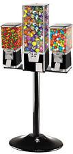 Triple Combo Bulk Vending Machine -BLACK with 75 cent vend