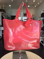 Louis Vuitton Red Epi PVC Beach Tote XL Purse Handbag Shop Pickup Our LA Store
