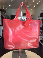 Louis Vuitton Red Epi PVC Beach Tote XL Purse Handbag Shop Pickup Our LA Store