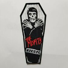 THE MISFITS COFFIN EMBROIDERED  PATCH