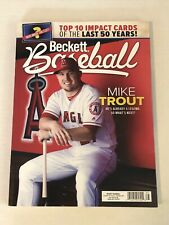 Beckett Baseball Card Monthly November 2019 Mike Trout Price Guide