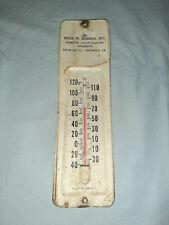 Vintage Thos. W Robbins Furniture Appliances Thermometer Smithfield Va