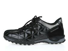 Allrounder By Mephisto Womens Black Patent Leather Lace Up Sneakers Size 6.5