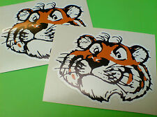 ESSO Style Tiger Car Van Motorcycle Stickers Decals 2 off 95mm