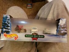 Hot Wheels Vintage Hot Rods 2000 Holiday Christmas 3 Car Set Unopened