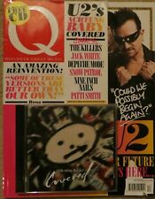 Rare 2011 Q Magazine & promo CD U2 Ahk-toong Bay-bi Achtung Baby BONO