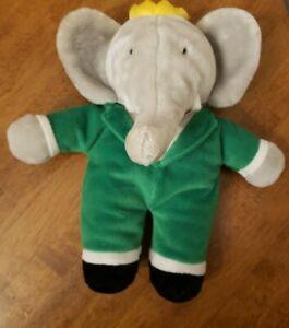 Vintage Eden 1991 BABAR The Elephant Plush Stuffed Toy Doll EUC 8 Inches