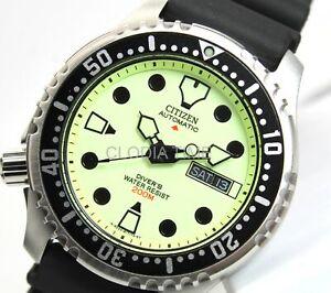 Citizen Promaster Loomy Automatico Gomma Diver's 200 Metri NY0040-09W