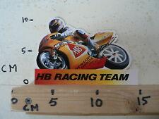 STICKER,DECAL HB RACING TEAM HONDA NSR DUNLOP SCHUH ELF MOTO GP GRANDPRIX