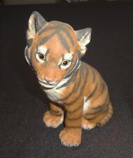 Lenox Endangered Babies Sumatran Tiger Cub Lenox 1994 Handcrafted Porcelain