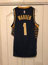 Tj Warren Indiana Pacers Jersey Custom Mens Large #1 NBA RARE !