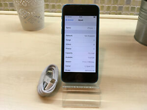 *RARE* Apple iPhone 5c - iOS 7.0.4 - 16GB - Blue (Unlocked) A1456 (CDMA + GSM)