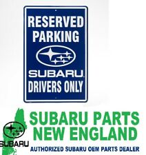 230323 SUBARU DRIVERS ONLY PARKING SIGN