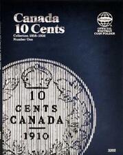 Whitman Folder 3202: Canadian 10 Cents Vol 1 1858-1936