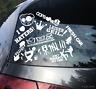 12 x Aufkleber Auto hand wash sticker blitzer fresh car cops love haters hexa