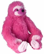 BNWT- WILD REPUBLIC VIBES HOT PINK SLOTH SOFT PLUSH TOY 30cm/12inch