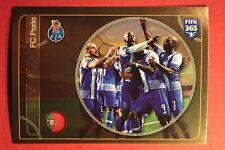 PANINI FIFA 365 - 2017 N. 22 TEAM FC PORTO TOP MINT !