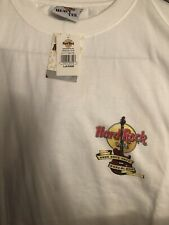 Hard Rock Cafe Barcelona LG City T-Shirt, white with Original Tags