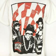 RUN DMC T Shirt 2007 Anthill Trading Limited Hip Hop Rap Streetwear Size Large