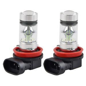 For Toyota Camry 2007-2014 H11 H16 H8 100W Blue Fog Light LED 2x Foglight Bulbs