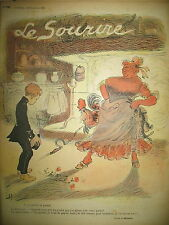 LE SOURIRE N° 161 JOURNAL HUMOUR DESSINS MIRANDE DESTEZ CADEL HUARD GRÜN 1902