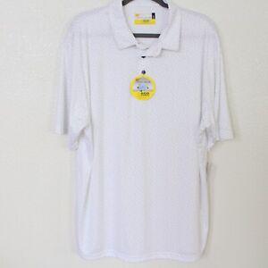 NICKLAUS White Golf Shirt Eco Choice, NWT - Men's Size XL