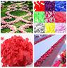 Great 1000pcs Various Colors Silk Flower Rose Petals Wedding Party Decorations B