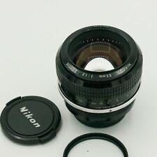 Nikon Nikkor 55mm F1.2 F1,2 AI Fast Prime Lens Nikon F Mount