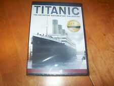 TITANIC THE DEFINITIVE DOCUMENTARY COLLECTION White Star Liner Disaster DVD Set
