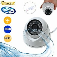 POE 1080P 2.0MP Outdoor Security  IP Camera Network Onvif P2P IR Night Vision