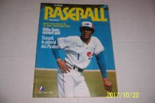 1974 Baseball MONTREAL EXPOS Willie Davis Steve Rogers 2 page Poster