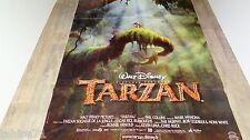 TARZAN  ! affiche cinema  animation bd  disney